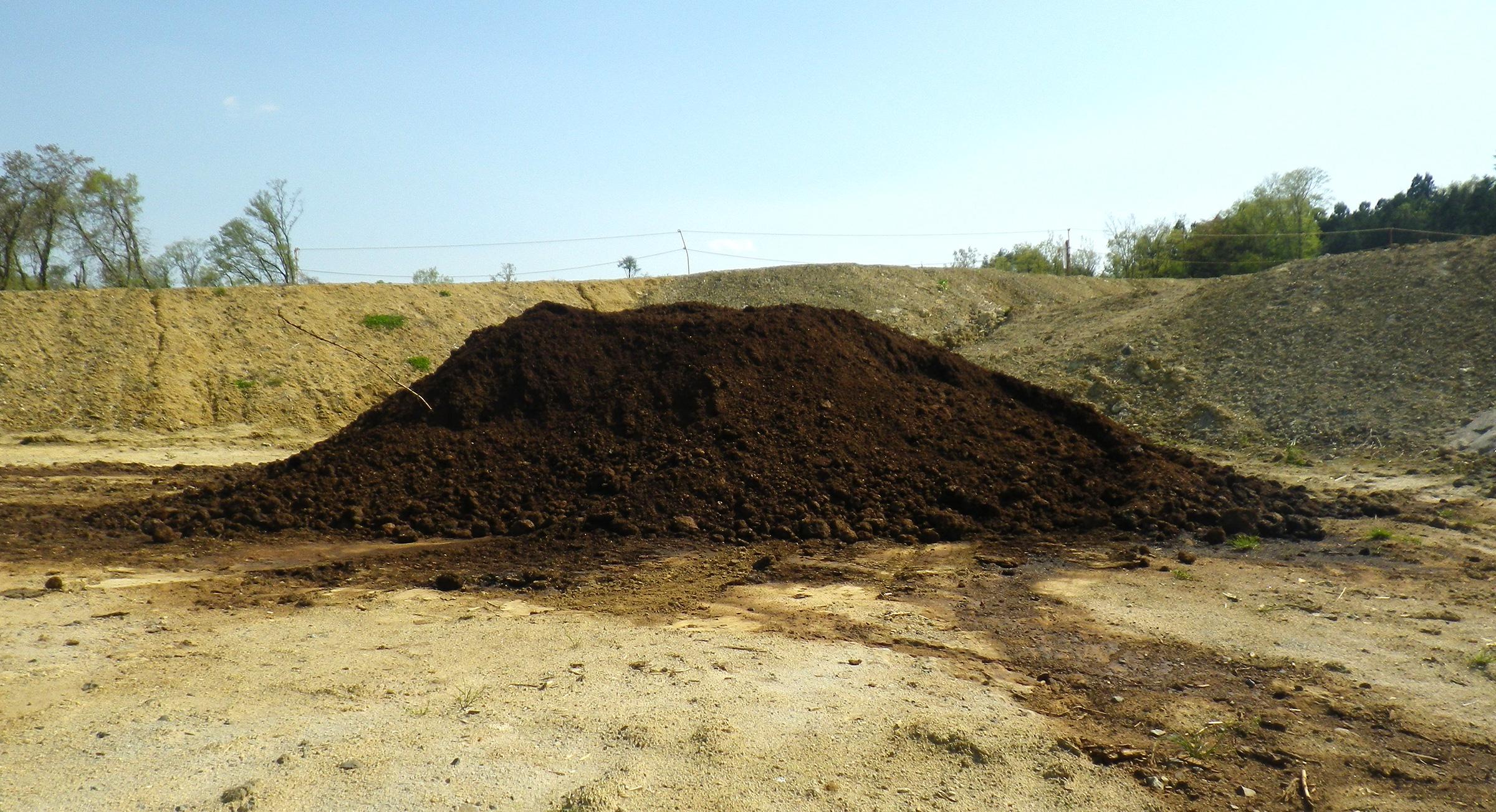 山砂・客土を活用した肥料の開発