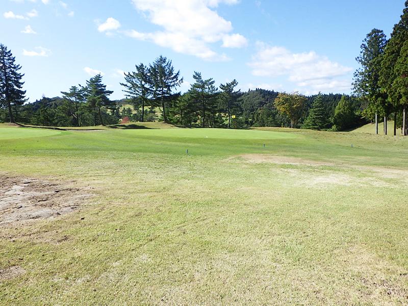 ゴルフ場土砂崩れ復旧工事