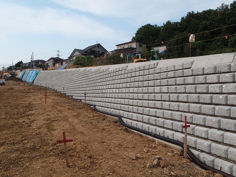 長町八木山線(西野平工区)道路築造工事