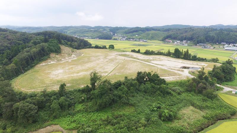 作田山跡地